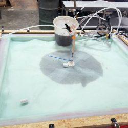 Eldorado-SolidRock-Panel-Mold-Being-Infused-with-Resin