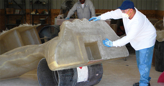 Fiberglass Design, Mold Making & Gel Coating in Denver, CO